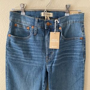 Madewell Cali Demi-Boot Jeans (Tierney Wash)
